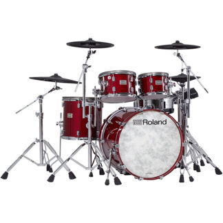 Roland VAD706 V-Drums Acoustic Design Gloss Cherry front