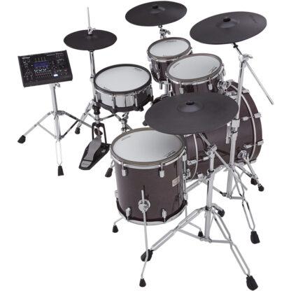 Roland VAD706 V-Drums Acoustic Design Gloss Ebony shell side