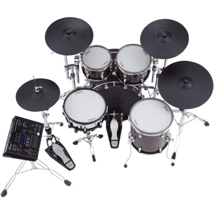 Roland VAD706 V-Drums Acoustic Design Gloss Ebony shell top