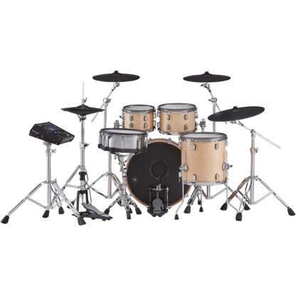 Roland VAD706 V-Drums Acoustic Design Gloss Natural back