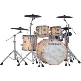 Roland VAD706 V-Drums Acoustic Design Gloss Natural front