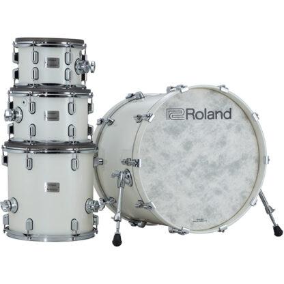 Roland VAD706 V-Drums Acoustic Design Polar White shell stack