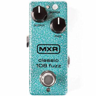 MXR Classic 108 Mini Fuzz Pedal front