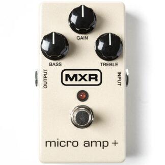 MXR Micro Amp+ front