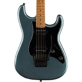 Squier Contemporary Stratocaster HH FR Gunmetal Metallic body