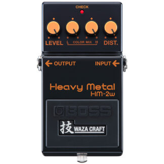Boss HM-2W Waza Craft Heavy Metal Distortion front