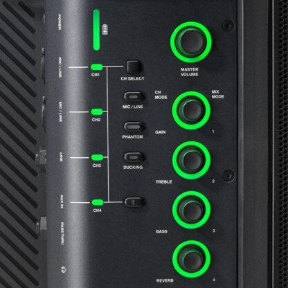 JBL EON ONE Compact controls