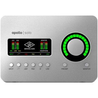 Universal Audio Apollo Solo USB front
