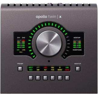 Universal Audio Apollo Twin X DUO front