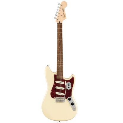 Squier Paranormal Cyclone Pearl White Telecaster Full