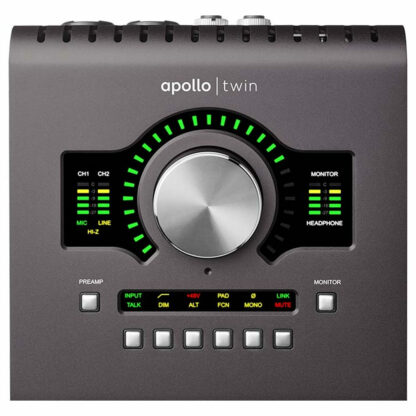 UAD Apollo Twin MK II Duo Heritage Top